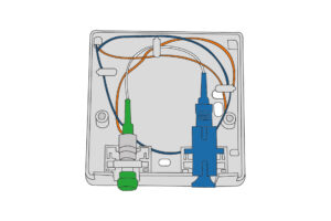 CSB10 FTTH Customer Outlet 2