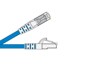 Cat 6 Screened PVC CM Patch Cords 1