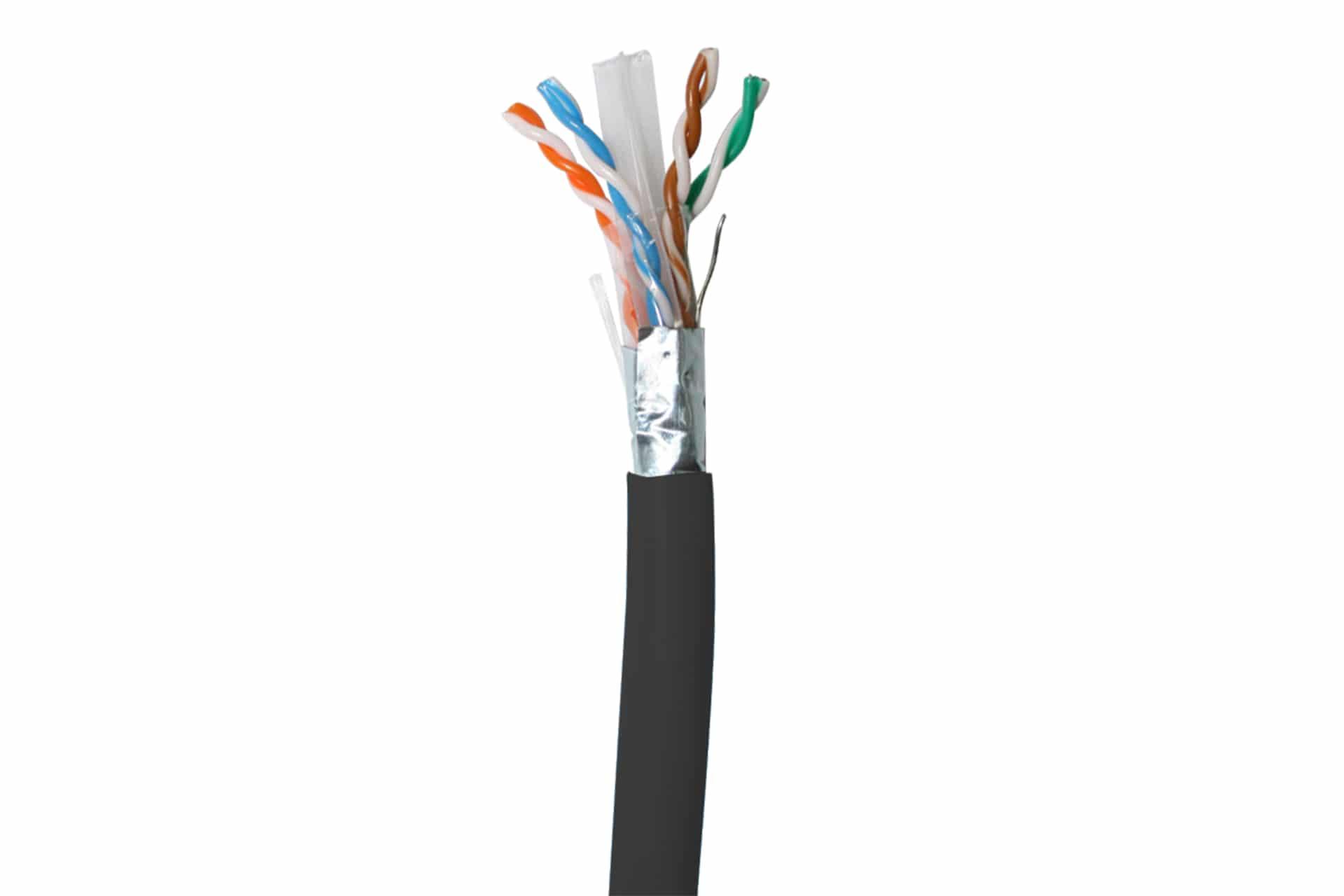 Cat 6A FUTP PE External Cable