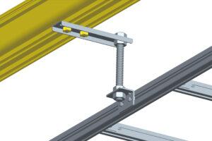 Fiber Raceway Ladder Rack Side Support Kit 2