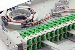P05 1U High Density Dual Tray Pivot Panel - 48 Position SCLC up to 48 fibers 5