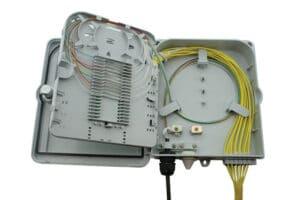 W35 IndoorOutdoor Lockable Wall Box - Up To 12 Fibers SC Simplex Or LC Duplex Adaptor 4