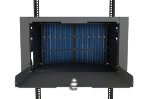 U-Series 6RU Splice and Patch Panel for Direct Pass-Through Patching 2