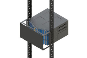 U-Series 6RU Splice and Patch Panel for Direct Pass-Through Patching 4