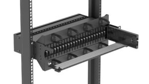 H-Series 4RU Housing with Splice-Through Cassette